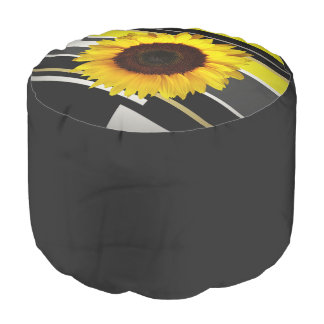Sunflower Pouf