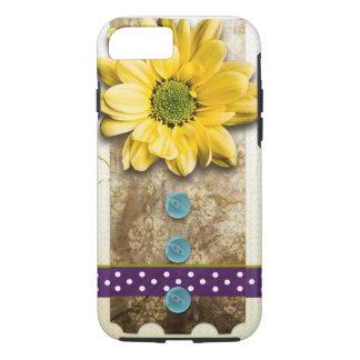 Sunflower Power Craft iPhone 7 Case