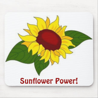 Sunflower Power!  Mousepad Mouse Pad