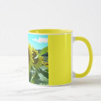 Sunflower Power--Mug Mug