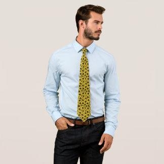 sunflower print tie