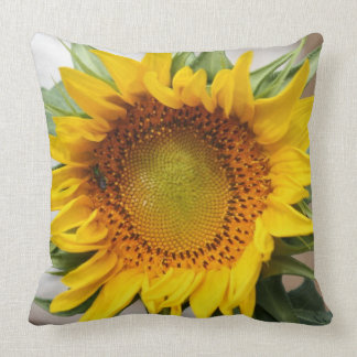 Sunflower Printed Decorative Pillow