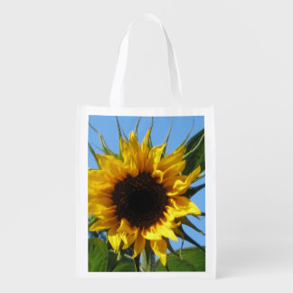 Sunflower - Re Usable Bag Tote Reusable Grocery Bags
