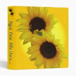 Sunflower Recipe Book - Flavorites Recipe Book Vinyl Binder