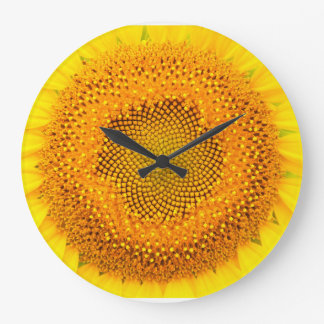 Sunflower Round (Large) Wall Clock