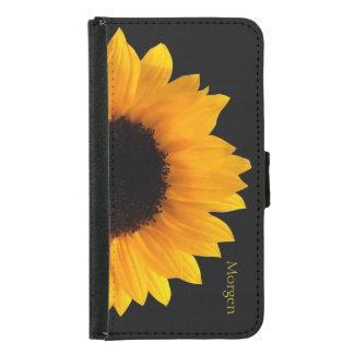 Sunflower Samsung S5 Wallet Case