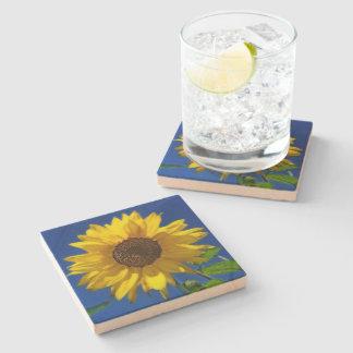 Sunflower Sandstone Coaster Stone Coaster