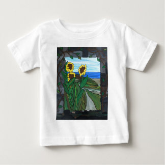 Sunflower seascape baby T-Shirt