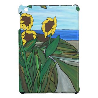 Sunflower seascape iPad mini cover