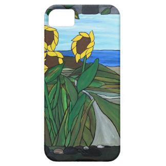 Sunflower seascape iPhone 5 cases