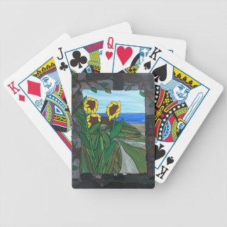 Sunflower seascape poker deck