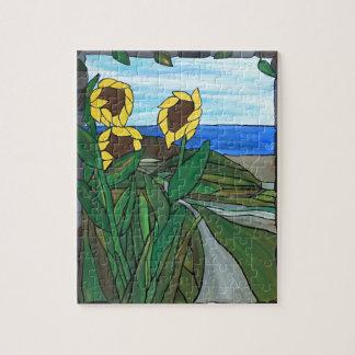 Sunflower seascape puzzles