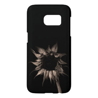 Sunflower - Sepia Fine Art Photograph Unique Cool Samsung Galaxy S7 Case
