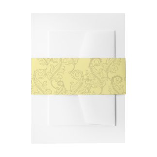 Sunflower Shadow Fairy and Cosmic Cat Invitation Belly Band