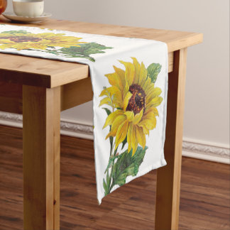 Sunflower Short Table Runner