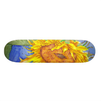 Sunflower Skate Board