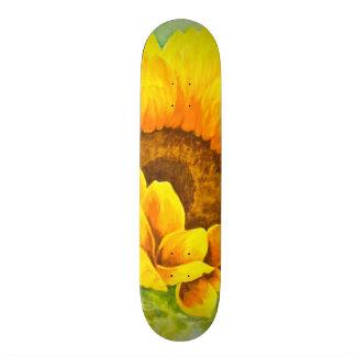 Sunflower Custom Skate Board