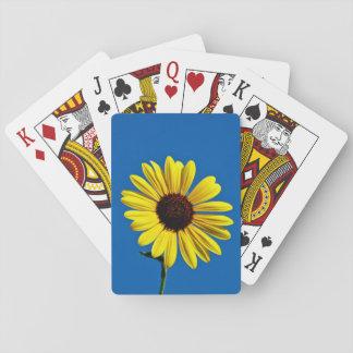 Sunflower Sky Poker Deck