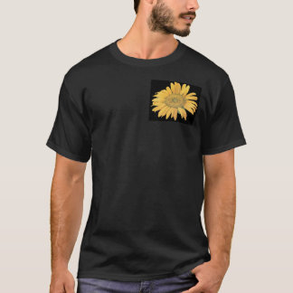 sunflower smaller in corner T-Shirt