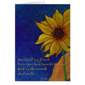 Sunflower Smile Card