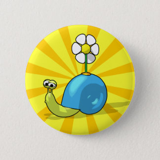 SUNFLOWER SNAIL Button