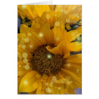 Sunflower Sparkles Card