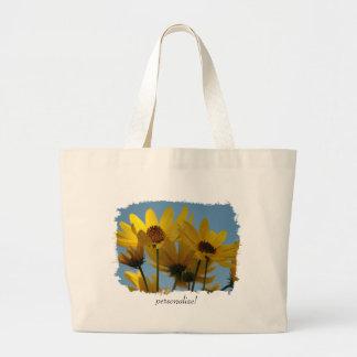 Sunflower Splash Bag
