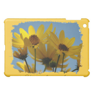 Sunflower Splash Speck iPad Case