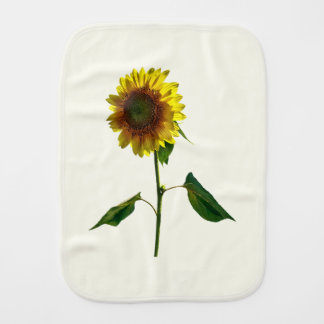 Sunflower Standing Tall Burp Cloth