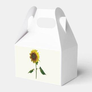 Sunflower Standing Tall Favor Box