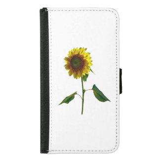 Sunflower Standing Tall Samsung Galaxy S5 Wallet Case