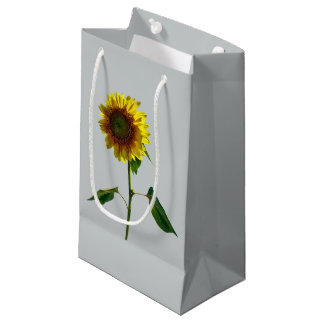 Sunflower Standing Tall Small Gift Bag