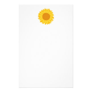 Sunflower. Customized Stationery
