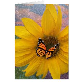 Sunflower Summer Card