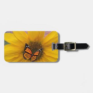 Sunflower Summer Luggage Tag