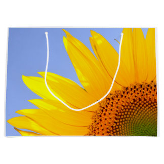 Sunflower Summer Nature Large Gift Bag