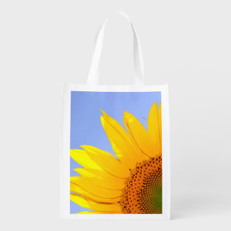 Sunflower Summer Nature Market Totes