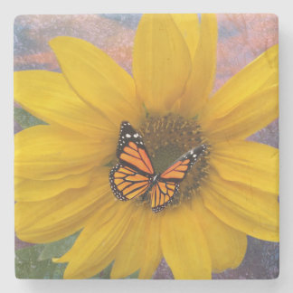 Sunflower Summer Stone Coaster