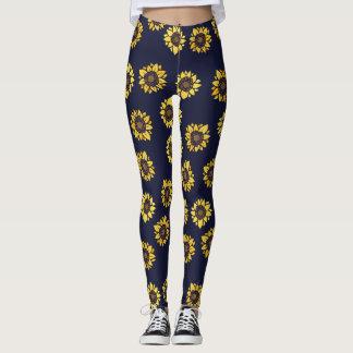 Sunflower summer sunshine leggings
