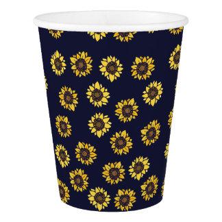Sunflower summer sunshine paper cup