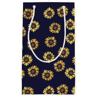 Sunflower summer sunshine small gift bag