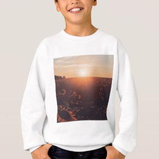 sunflower sunset field clothing sweatshirt