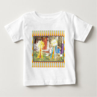 sunflower sunshine decorations festivals celebrati baby T-Shirt