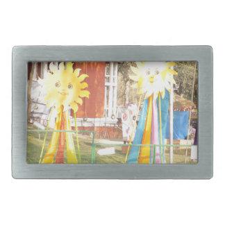 sunflower sunshine decorations festivals celebrati rectangular belt buckle