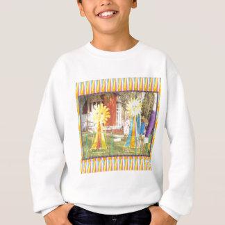 sunflower sunshine decorations festivals celebrati sweatshirt