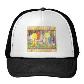 sunflower sunshine decorations festivals celebrati trucker hat
