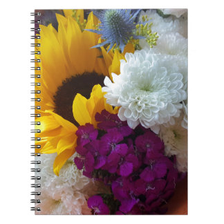 Sunflower Surprise Spiral Notebook