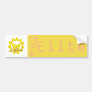 Sunflower:The Elite Bumper Sticker