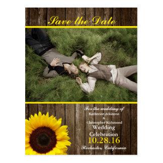 /sunflower theme postcard