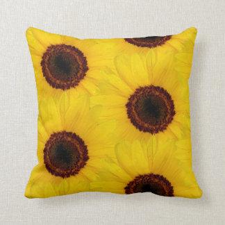 Sunflower Tiled Throw Pillow